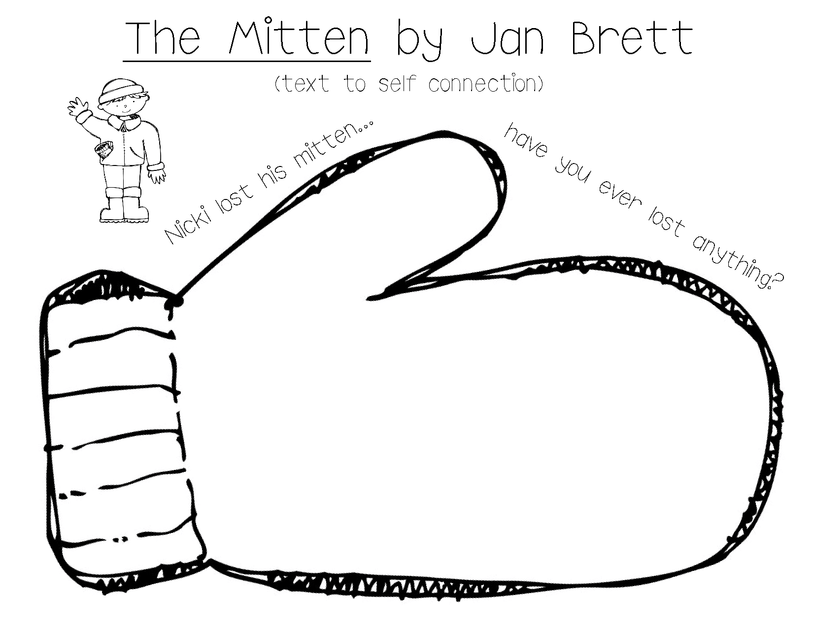 The Mitten Is Something Grades 3rd To 5th Can Use To Learn Subjects Of Language Arts And Reading