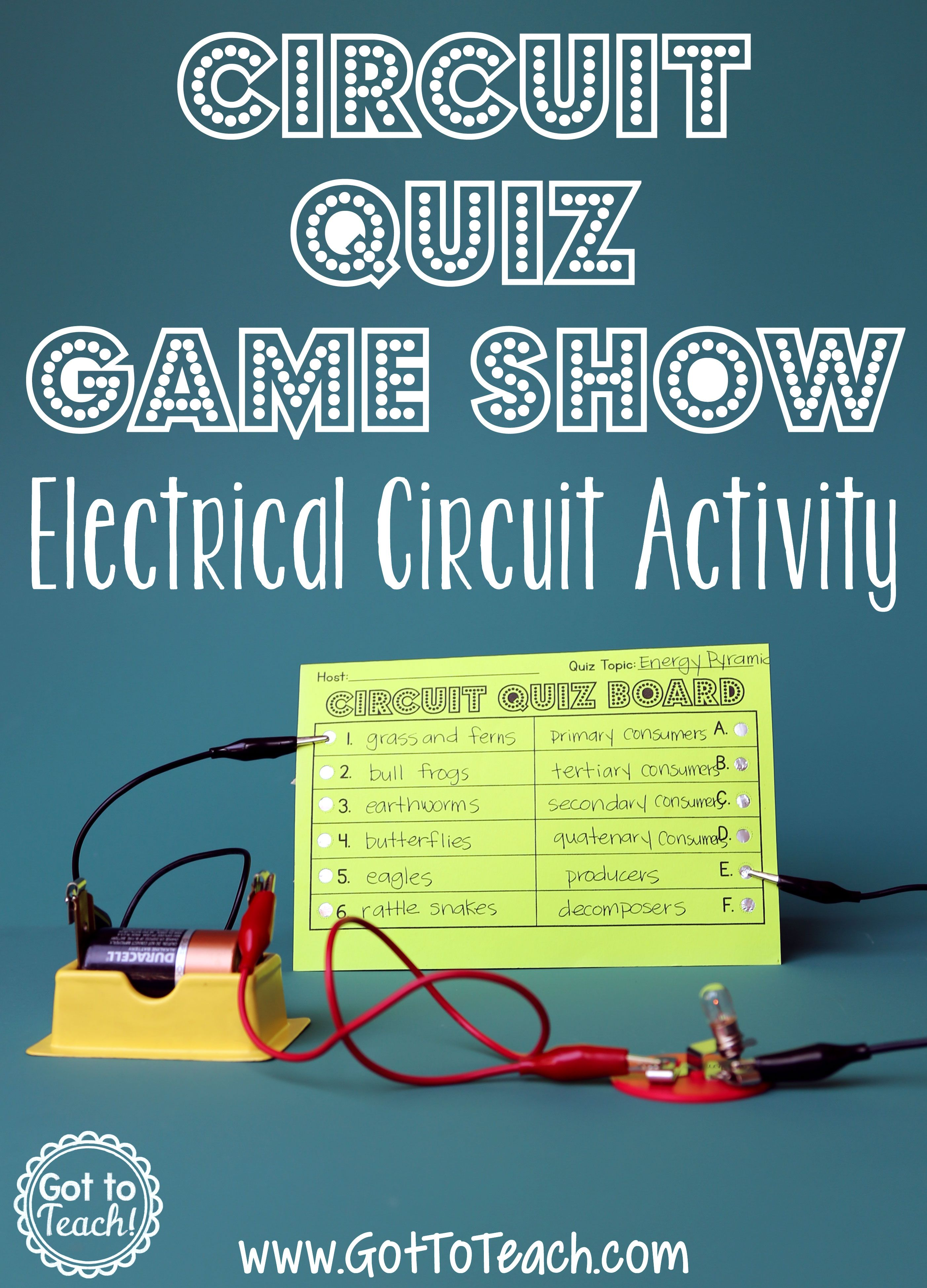 Simple Circuit Electricity And Circuits