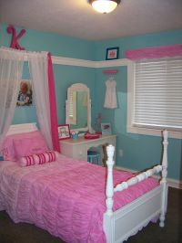 turquoise and pink girl princess room! | Kennedy's Room ...