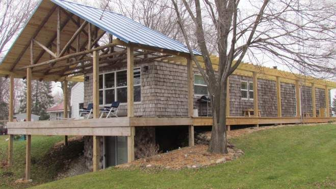 The Whim A Single Wide Exterior Remodel Single Wide Decks And