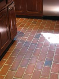 Kitchens - Inglenook Brick Tiles - thin brick flooring ...