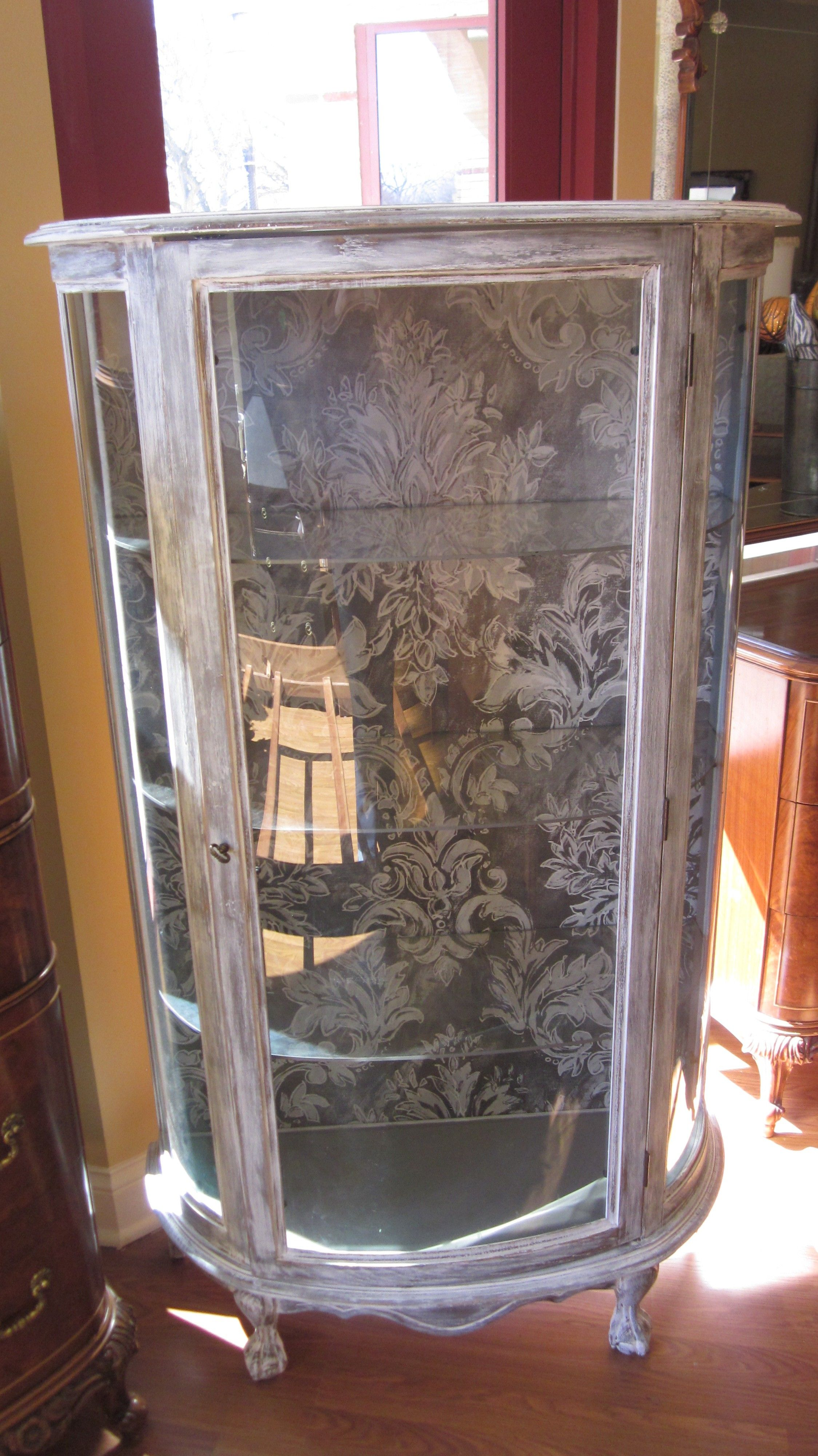 Painted Curio Cabinet 300  Riverside httpfurnishly