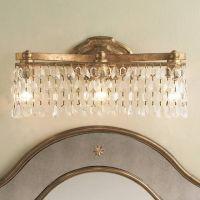 champagne bronze light fixture | Bathroom Ideas ...