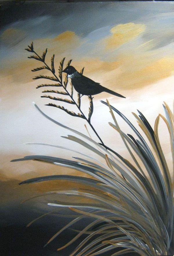Zealand Landscape Painting Series Artmeganmorris