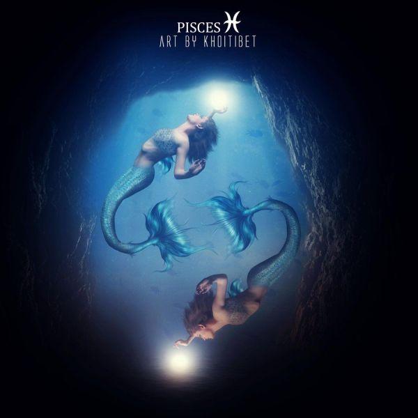 Pisces Zodiac Deviantart