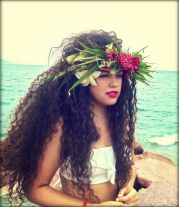 polynesian girl beauty