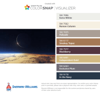 Solar Eclipse Sherwin-Williams: Extra White (SW 7006 ...
