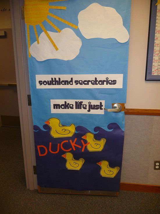 Elementary School Door Decorating Ideas