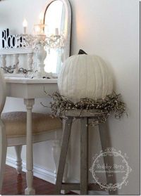 Shabby Chic - Fall style | fall decorating | Fall Decor ...
