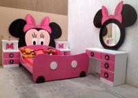 Minnie Mouse Bed/Room | Grandkids | Pinterest | Minnie ...