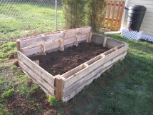 Pallet Garden Boxes Box And