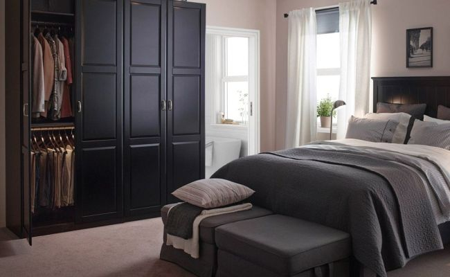 Ikea Bedroom Furniture Wardrobes With Good Amazing