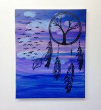 Dream Catcher Painting, Cheap Wall Art, Dream Catcher Art ...