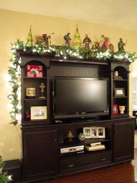 ideas for the entertainment center  For the Home
