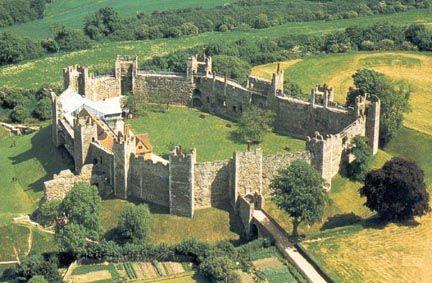 Framlingham Castle Is A Castle In The Market Town Of Framlingham