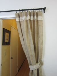 Burlap flat panels/Decor and Housewares/Shabby by ...
