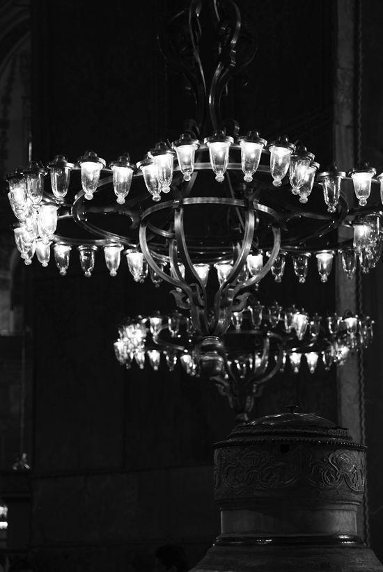 Chandeliers Of Hagia Sophia Ayasofya