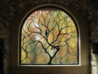 Magical stained glass window for a magical house! By Cain ...