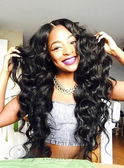 Human Hair Weave African American Deep Wave India Human Hair