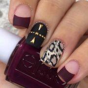 matte nail design 'll