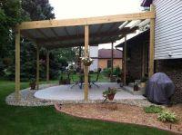 Cheap DIY Patio Cover Ideas and Plans - http://reshefmann ...