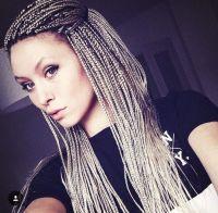 White girl braids | CRIMP/BRAIDS | Pinterest | White girl ...