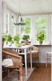 Small Sunroom on Pinterest | Sunroom Decorating, Sunroom ...