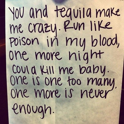you and tequilaKenny Chesney  Lyrics Verses and