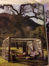 Backyard DIY cabana | | outdoor oasis | | Pinterest ...