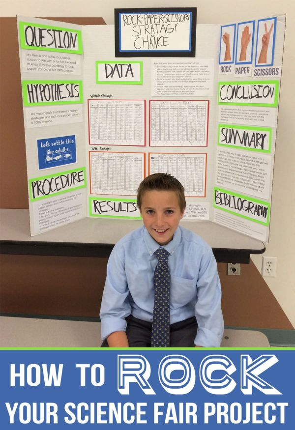 Create Awesome Science Fair Project