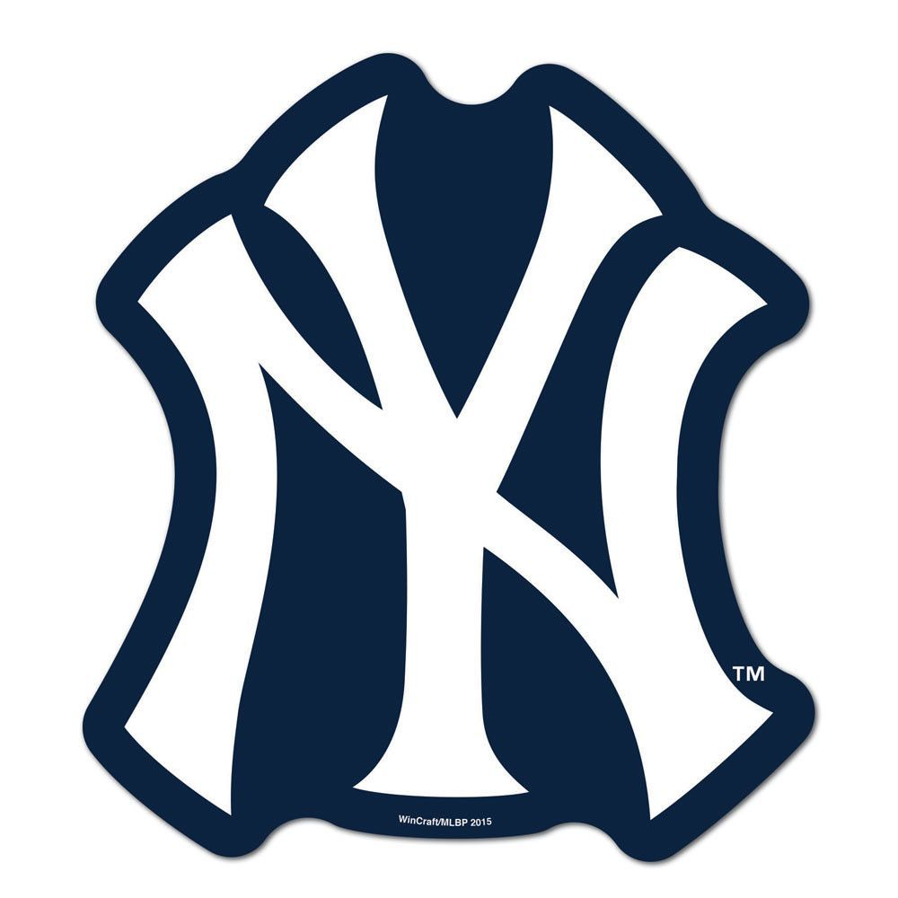 New York Yankees Logo Stencil