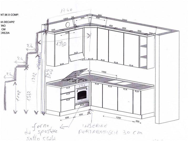 Cucine Angolari Componibili Cucina Moderna Cappa Piano