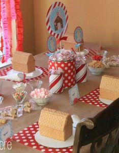 Gingerbread House Decorating Party Ideas Valoblogicom