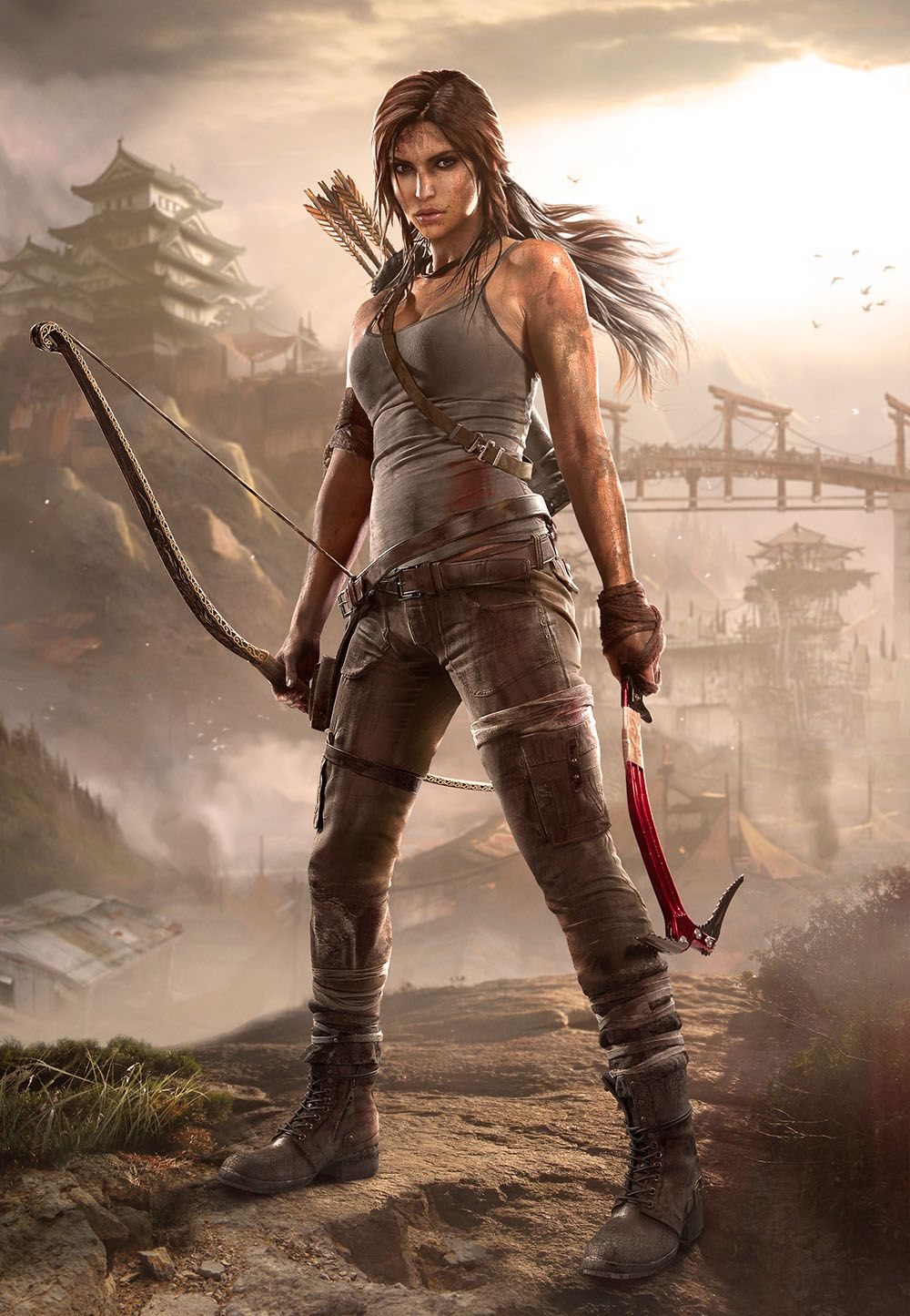 Lara Croft Tomb Raider 2013 Outfits
