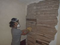 Removing Lath And Plaster Walls : Get Up! and DIY ...