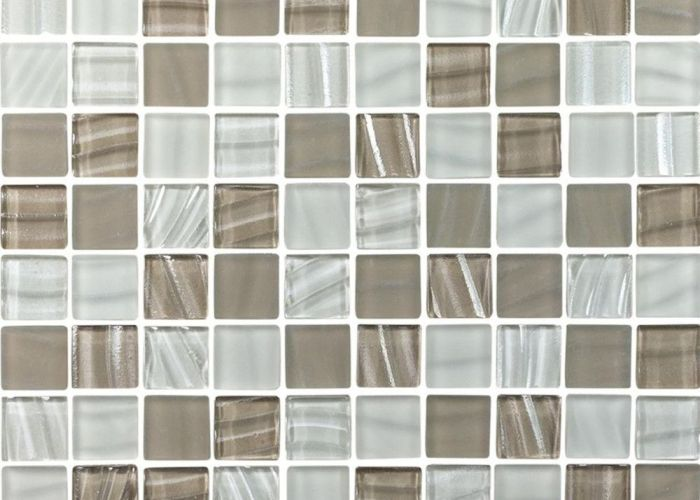 frosted beige  white glass mosaic tile also sample products