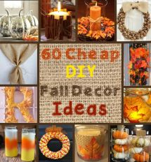 Cheap And Easy Fall Decor Diy Ideas