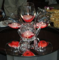 Wine Glass Center Piece  Tutorial  Yipee ...