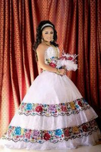 Mexican quince dress