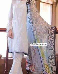 9fb2ca11b5 White chiffon suit buy zeen pakistani dresses and clothing online in usa uk  also rh pinterest