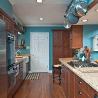 Kitchen Wall Colors With Cherry Cabinets Design Ideas ...