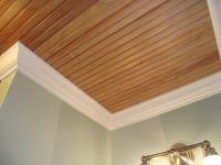 Beadboard Ceiling Planks in Bathrooms | Ceilings, Plank ...