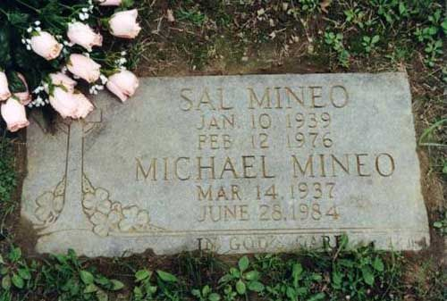 Sal Mineo Burial Gate Of Heaven Cemetery Hawthorne