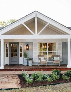Outdoor wall decor metal how to decorate brick outside modern farmhouse exterior country style home styles of homes designs front house design also love the cottage feel this sweet rh pinterest