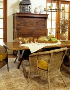 New home interior design decorating gallery dining rooms also for the pinterest wicker chairs room table rh