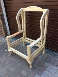 Frame for a Wingback chair | Frames for upholstery ...