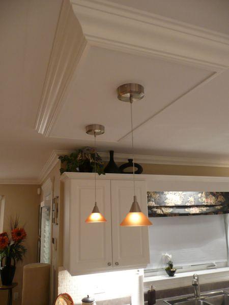 fluorescent light fixtures living room dark grey carpet kitchen island ceiling box - | diy home projects ...