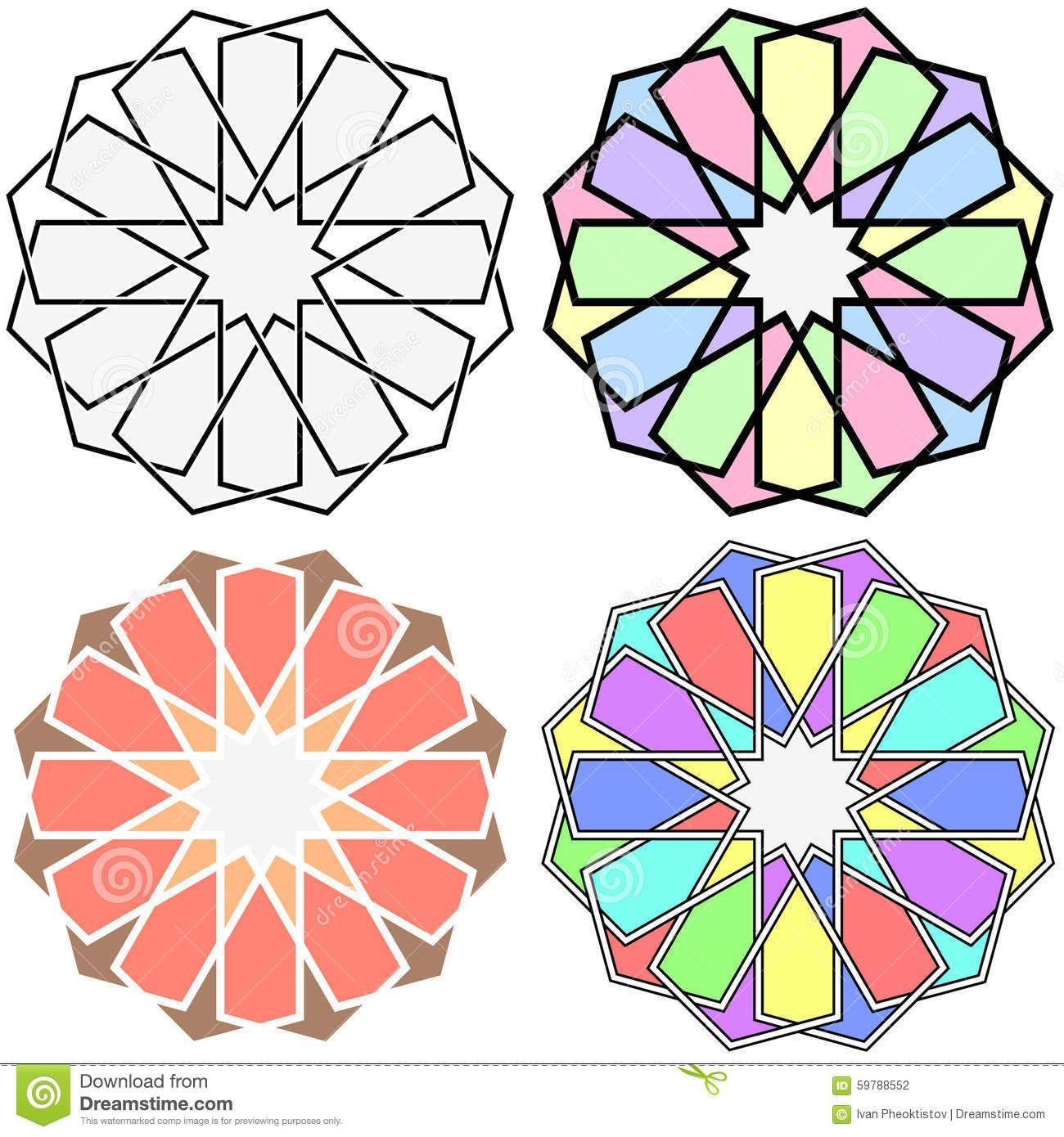 Islamic Patterns Stock Vector
