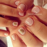 Simple and cute gel nail design | Nails | Pinterest ...