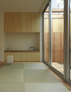 House in nishimikuni is  minimalist located osaka japan designed by arbol also minimal design blog and high walls rh pinterest